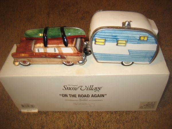DEPARTMENT 56 Original SNOW VILLAGE On the Road Again RETIRED (North Central)