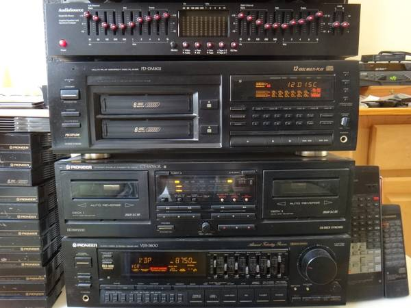 9829PIONEER STEREO SYSTEM - Receiver, CD 14Mags, Tape, Eq, Remote $300oBo - $300 (281 Thousand Oaks - inside 1604)