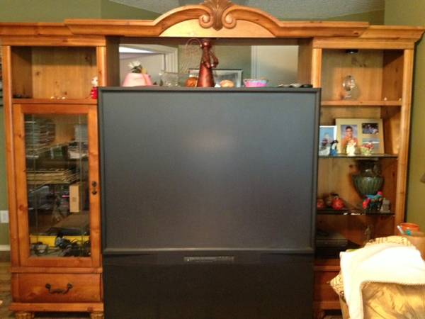 Big Screen TV Entertainment Center - $250 (SeaWorld)