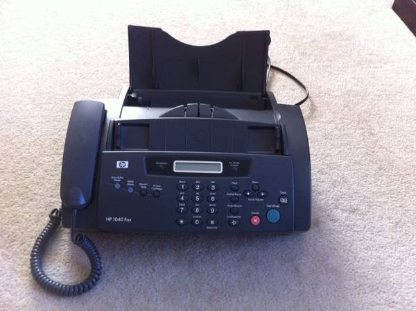HP 1040 Fax Machine - $45 (Lockhill SelmaHuebner)