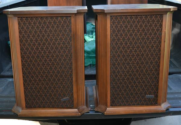 TWO VINTAGE AND RARE HH SCOTT MODEL S-101 OMNI DIRECTIONAL SPEAKERS - $125 (northeast)