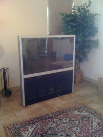 Toshiba 56 inch TheaterWide HD TV - $75 (New Braunfels)