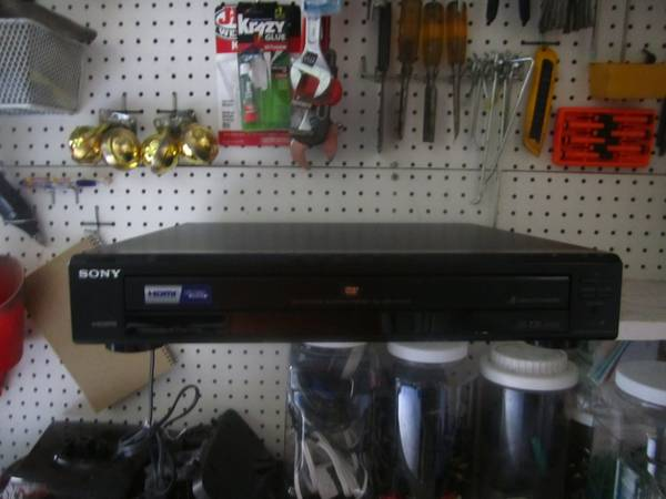 Sony 5 Disc CD DVD Player - $30 (San Antonio, TX)
