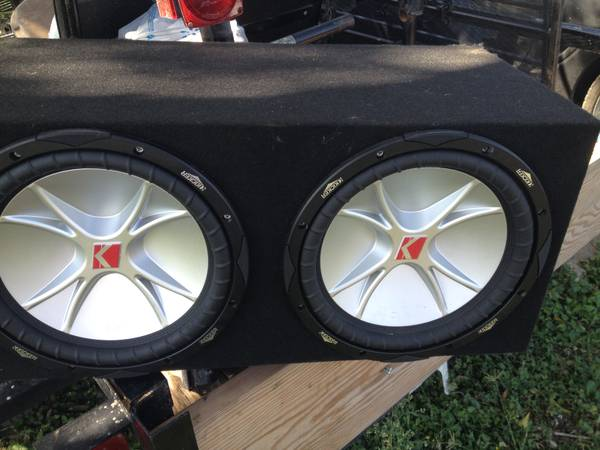 12 CVR Kicker Speakers - $425 (south san antonio)