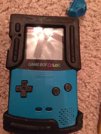 Game Boy Color plus accessories - $70 (utsa)