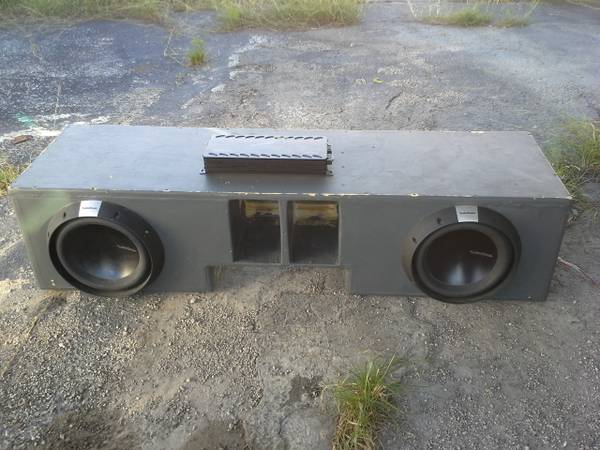 Rockford fosgate T2 12 subs - $400 (airport)