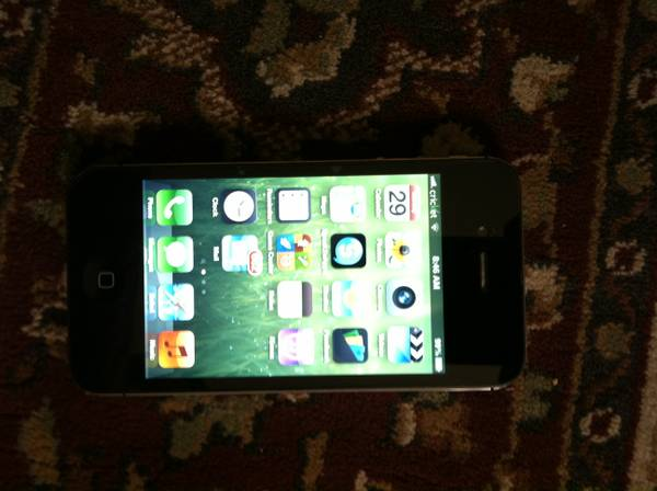 Iphone 4 Unlocked bad IMEI ATT will work in Mexico - $100 (281 1604)