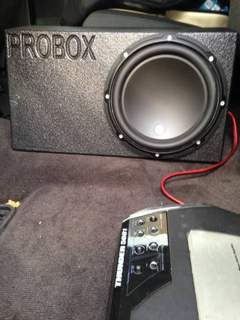 Jl audio w3 10 probox and - $240 (San Antonio )