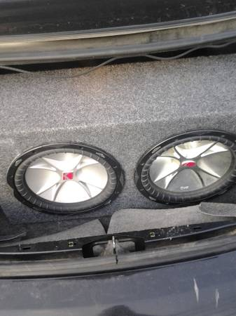 12 inch kicker CVR subs $150 firm - $150 (south side)