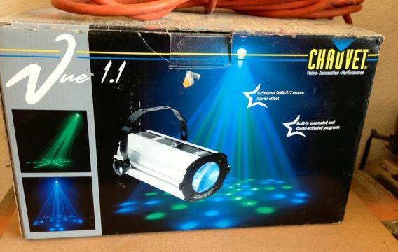 Chauvet Vue 1.1 light - $100 (Schertz-San Antonio )