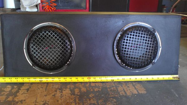 2 - 8 AudioBahn Subs w Prewired Box for Tweeters - $85 (NW)