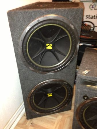2 12 inch kicker subs in sealed box - $100 (Floresville)