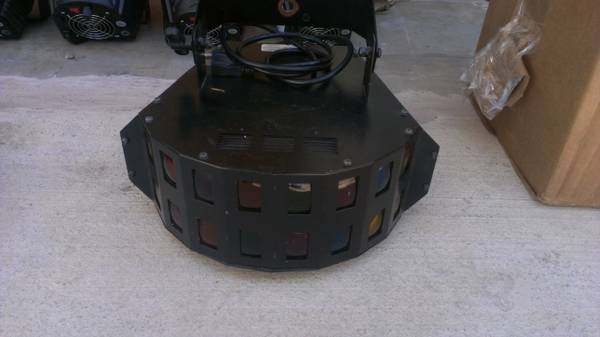 Set of 12 DJ Lights Light Control Center - $500 (IH-10 Vance Jackson)