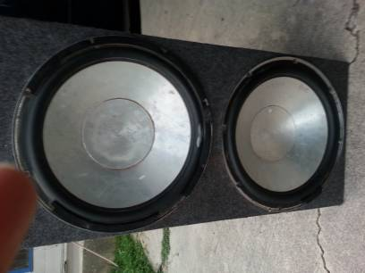 Q power subs with box - $50 (south san antonio )