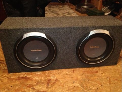 Rockford Fosgate 10 P2 subs and 1000w Kenwood Amp - $200 (S.W. San Antonio)