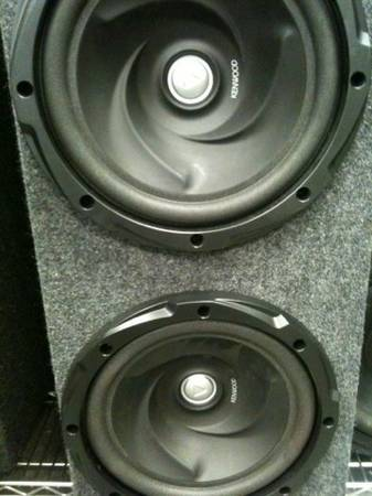 Kenwood 12 inch subs take a look - $150 (nacodogches )