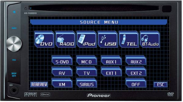 Touch Screen Pioneer Car Stereo - $300 (Nw San Antonio)
