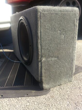 12 CUSTOM SOUNDS MADE PORTED BOX - $80 (DOWNTOWN)