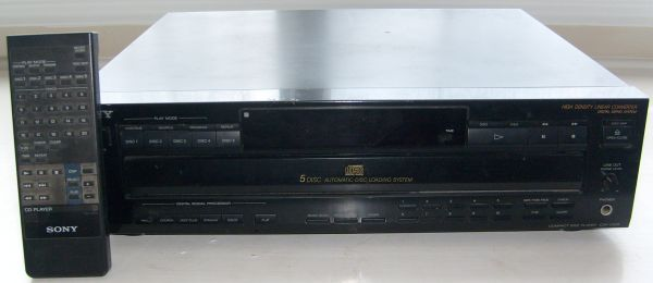 Sony Stereo 5-disc CD player - $50 (NW SA)