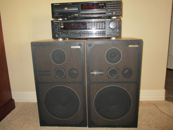 Pioneer Stereo Receiver, CD Player, Speakers, Speaker Wire - $75 (San Antonio -- Stone Oak Area)