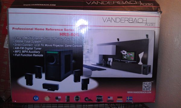 surround sound VANDERBACH AUDIO - $250 (san antonio west side)