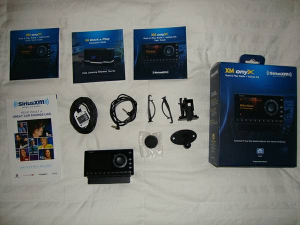 XM Satellite Radio Receiver wVehicle Kit 2 months - $40.00 OBO (Alamo Heights)