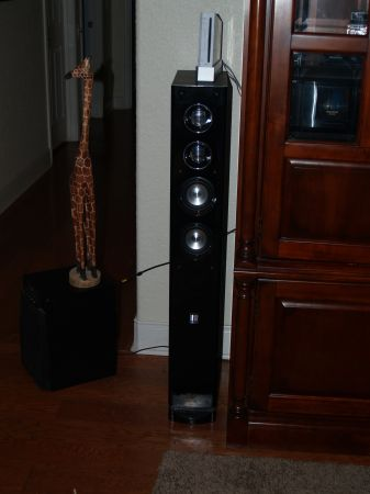 FLOOR SPEAKERS THEATER RESEARCH - $50 (SAN MARCOS)
