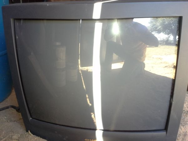 27 Sharp TV and Xbox combo - $100 (Devine)