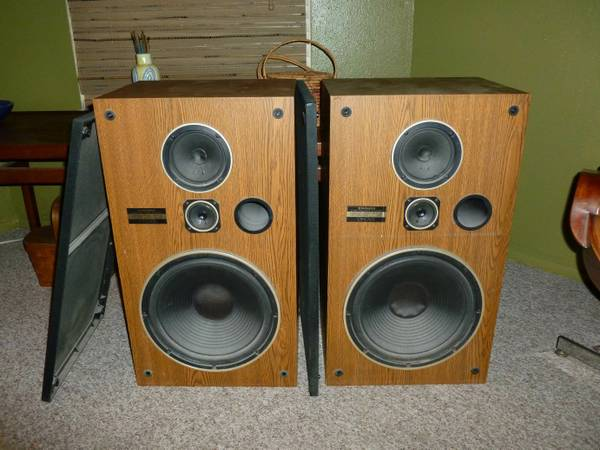 Vintage Pioneer Floor Speakers CS G303 - $95 (NE San Antonio)