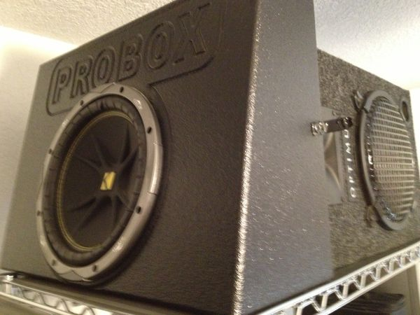 ProBox Sub Box Kicker Woofer - $65 (San Antonio Can Lake)