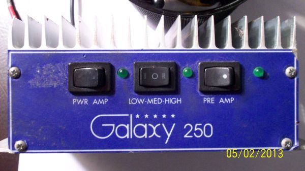 Galaxy 250 Watt Linear Amateur Radio Amp - $100 (New Braunfels, TX)