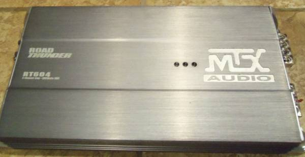 MTX 4-CHANNEL AMP - $100 (SAN ANTONIO)