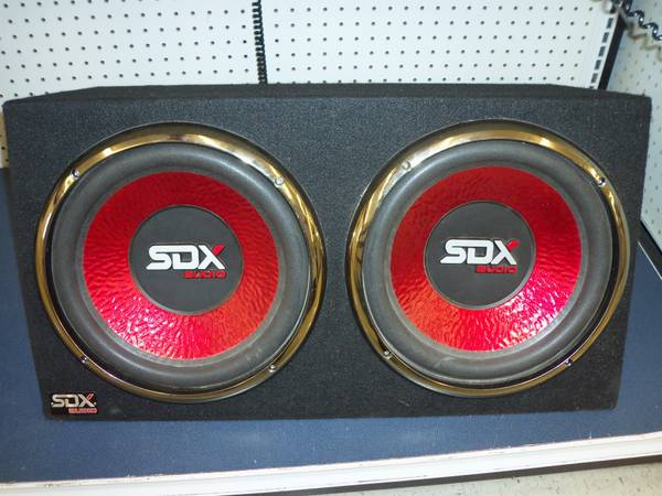 SDX AUDIO CAR SPEAKER - $75 (SEGUIN T.X)