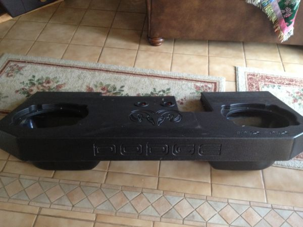 Custom Dual 12 Sub Box for Dodge Ram - $125 (Floresville, TX)