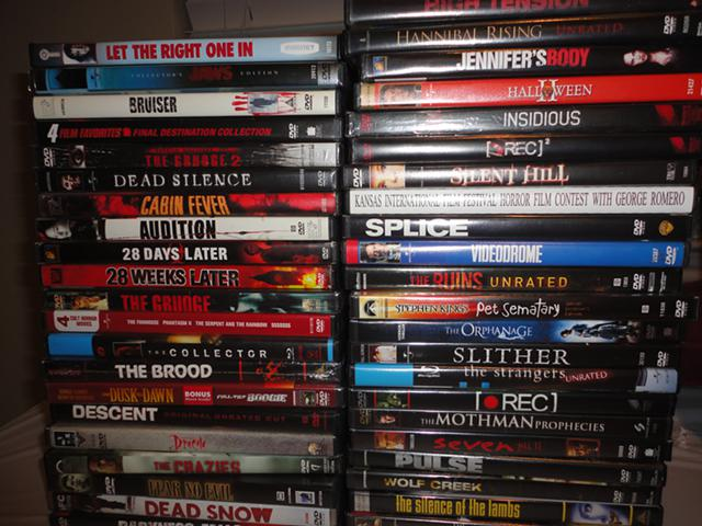 3  Horror Movie DVD Collection 4 Sale