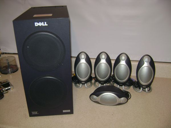 Dell Altec Lansing ADA995 5.1 THX Computer Speaker Surround System  - $90 (NESA)