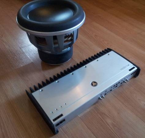 JL Audio 12 W7 10001v2 (LIKE NEW) - $1000 (san antonio)
