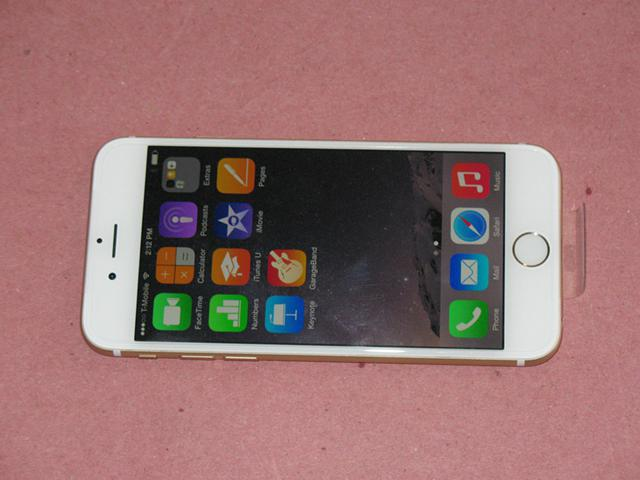 400  New iPhone 6 128gb Gold color