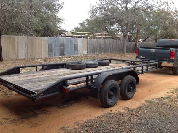 16ft Utility trailer (south san antonio)