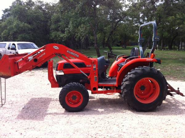 Kubota L3130HST, IMPLEMENTS (Garden Ridge)