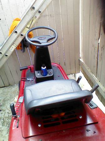 craftsman riding lawnmower great price - $400 (nw sa)