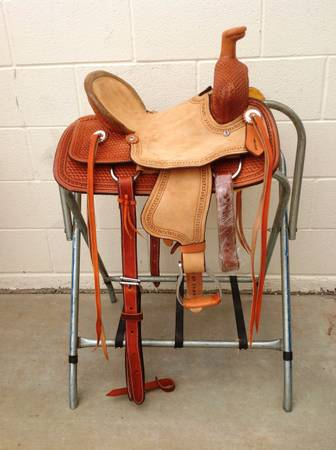 12 Buckaroo Youth Kids Corriente Saddle - $435