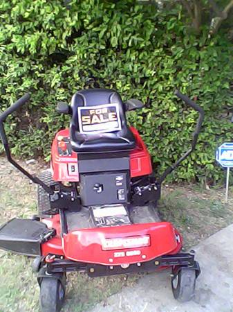 CRAFTSMAN 0-TURN LAWNMOWER - $1500 (wilmer)