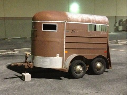 HALE TWO-HORSE TRAILER - $1250 (SAN ANTONIO)