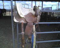 DOUBLE J BARREL SADDLE - $500 (HARWOOD)