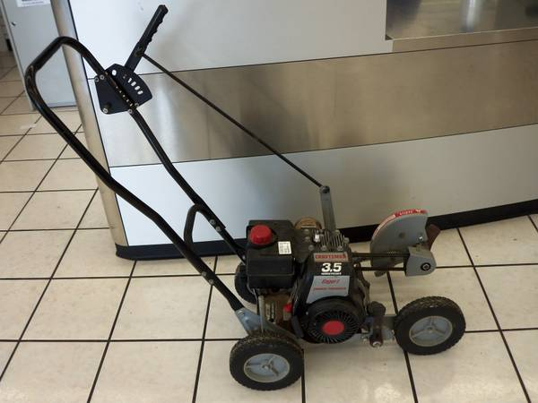 craftsman gas powered edger - $190 (babcock 410)