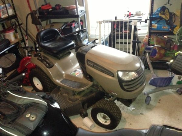 Craftsman 3500 Riding Mower : Craftsman dls lawn tractor for sale