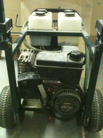 Craftsman pressure washer 2250 psi 6hp - $125 (Central)