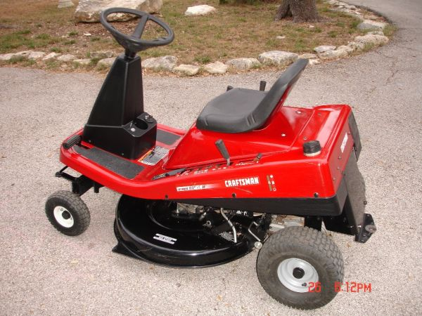 30 craftsman riding mower 13 5 hp for sale