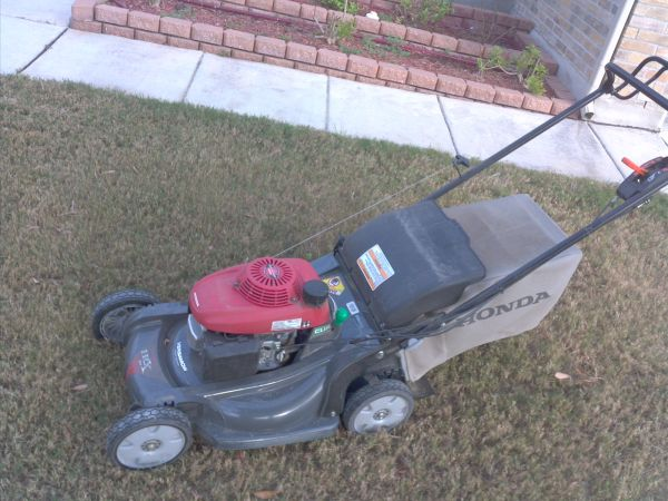 Lawn care combo Mowerweedeater with attachments - $650 (NW San Antonio)